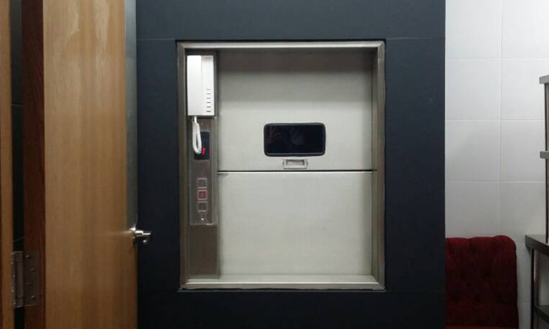 ML Lee Dumbwaiter lift front view 2