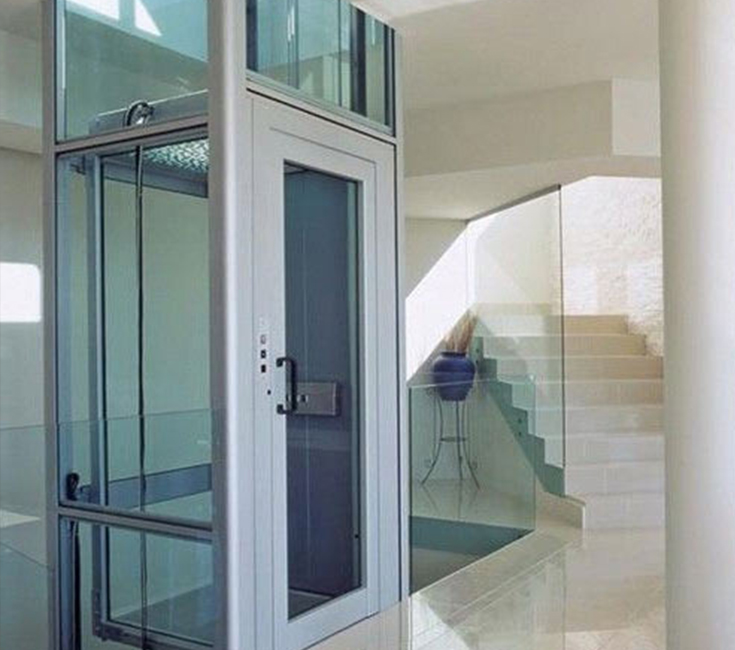 ML Lee Home lift in bungalow